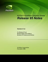 Release 95 Notes - Nvidia's Download site!!
