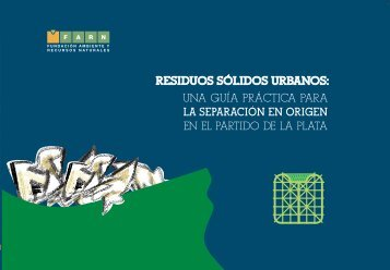 Residuos Sólidos Urbanos - Universidad Nacional de La Plata