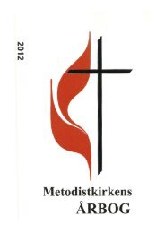 Årbog 2012 - Metodistkirken i Danmark