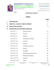 manual de organización - Municipio de Guadalupe