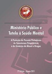 Ministério Público e Tutela à Saúde Mental - Módulo de Saúde Mental