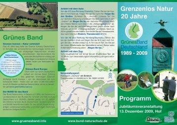 Grünes Band - Bund Naturschutz in Bayern eV