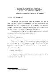 O USO DAS TECNOLOGIAS NA ROTINA DE ... - crtetoledoagentes