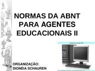 normas da abnt para agentes educacionais ii - crtetoledoagentes