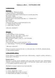 Celé znění smlouvy - z 14.06.2012 - Ministerstvo obrany