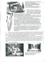 The Moses Yoeman House, Ponckhockie, Kingston, Ulster County ...