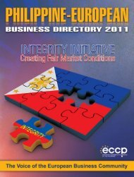 B - PEBD - European Chamber of Commerce of the Philippines ...