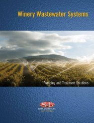 Pumping and Treatment Solutions for Winery Wastewater Systems