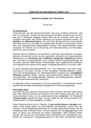 Rechtliche Aspekte der IT-Sicherheit - die advokatur