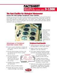 Best Clarifier for Biological Wastewater - Smith & Loveless Inc.