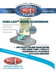 DURO-LAST™ MODEL S CONVERSION - Smith & Loveless Inc.