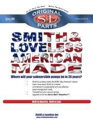 in America to Last - Smith & Loveless Inc.