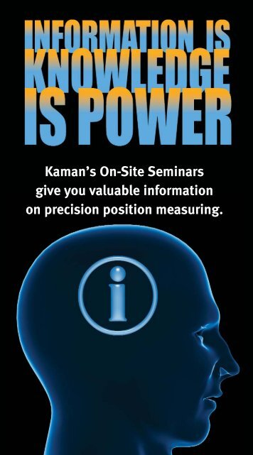 Lunch & Learn - Kaman Precision | Position sensors