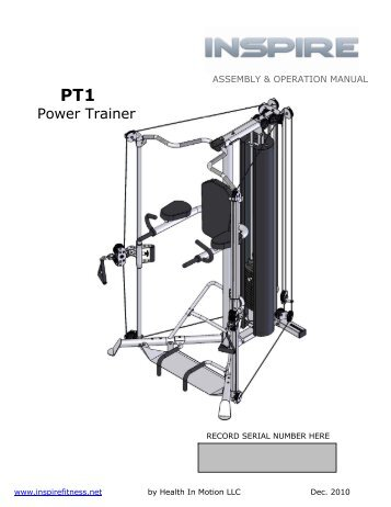 Power Trainer - Inspire Fitness