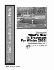 Winter 2003 - Smith & Loveless Inc.