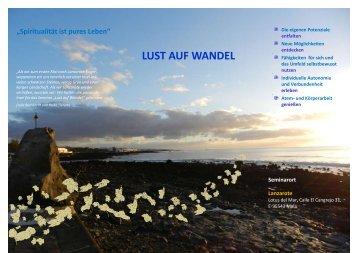 LUST AUF WANDEL - Seminar-lanzarote.com