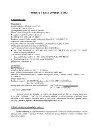 Celé znění smlouvy - z 25.06.2012 - Veřejné zakázky - Ministerstvo ...