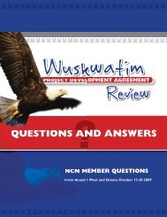 PDA Review Round 1 Questions and Answers - Nisichawayasihk ...
