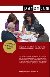 Begleitheft zum Eltern-Info-Tag für die Berufswahl ... - GTR Norf