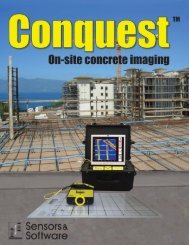 Conquest Brochure - Sensors and Software Inc