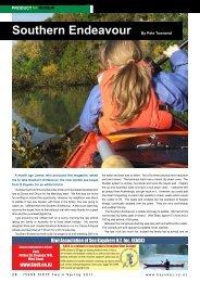 Southern Endeavour - New Zealand Kayak Magazine
