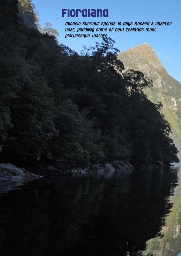 Fiordland - New Zealand Kayak Magazine