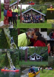 Whanganui River 2012 Montage - New Zealand Kayak Magazine