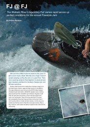 Full James 2010 - New Zealand Kayak Magazine