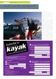 Rack it up this ski season - New Zealand Kayak Magazine