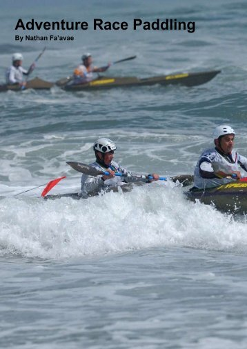 Adventure Race Paddling - New Zealand Kayak Magazine