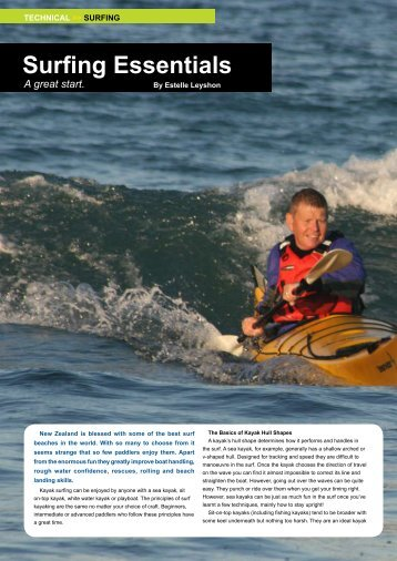Surfing Essentials - New Zealand Kayak Magazine
