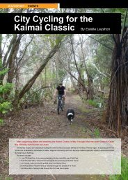 City Cycling for the Kaimai Classic