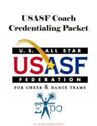 Coach Credentialing Packet