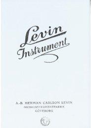 1942 Levin catalog - Vintage Guitars