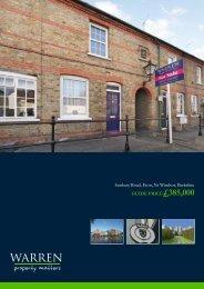 Sunbury Road, Eton, Nr Windsor, Berkshire GUIDE PRICE£385,000