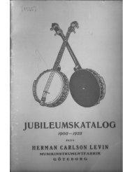 1925 Levin catalog - Vintage Guitars
