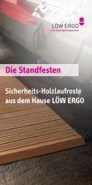 LÖW ERGO Flyer Sicherheits-Holzlaufroste