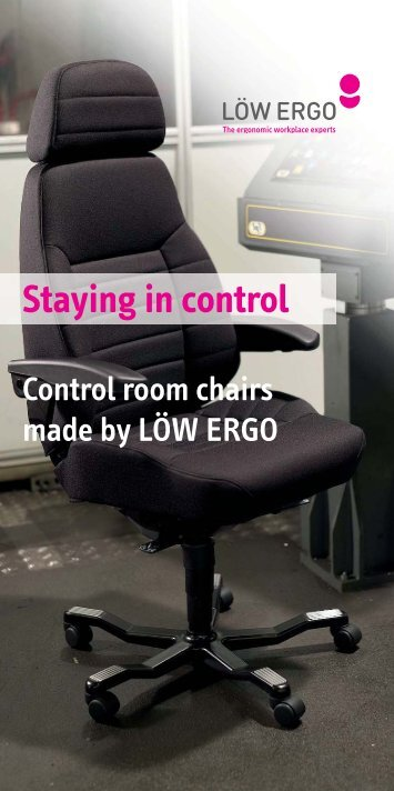 Staying in control - Löw Ergo