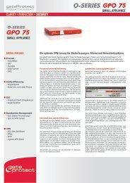 o-series GPO 75 GPO 75