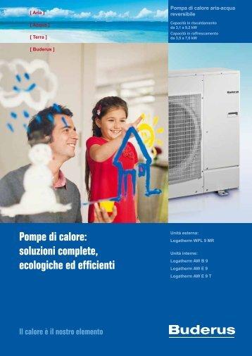 Pompe di calore: soluzioni complete, ecologiche ed efficienti