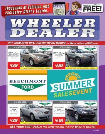 Wheeler Dealer 26-2015