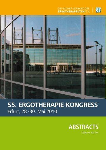 55. ERGOTHERAPIE-KONGRESS Abstracts