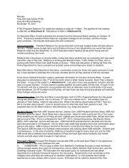 Minutes Palo Alto High School PTSA Executive Board Meeting ...
