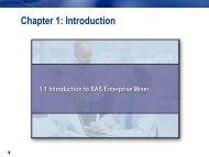 SAS Enterprise Miner Personal Workstation - Sorry