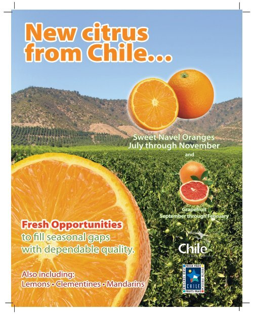 New citrus from Chile… - Fruits from Chile