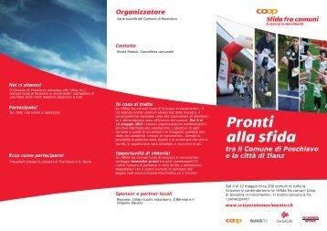 Organizzatore Pronti alla sfida - Il Bernina