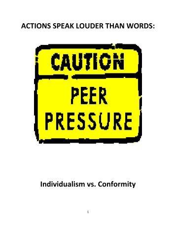 conformity essay psychology Conformity and obedience essays: over 180,000 conformity and obedience essays, conformity and obedience term papers, conformity and obedience research paper, book.