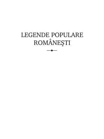 LEGENDE POPULARE ROM~NE+TI - ideaticabluescafe