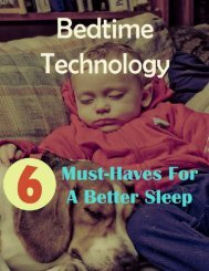 Bedtime Technology: 6 Must-Haves For A Better Sleep