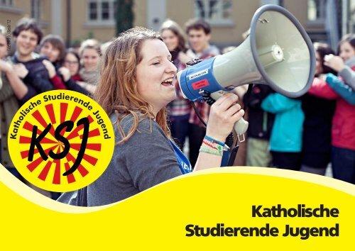 Broschüre der Katholischen Studierenden Jugend